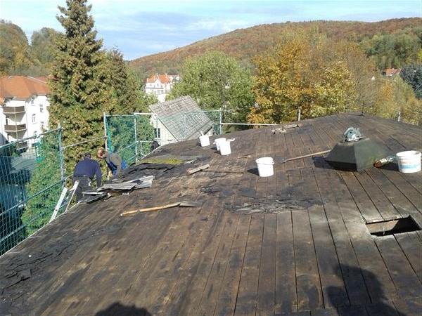 Dach abdecken 1410