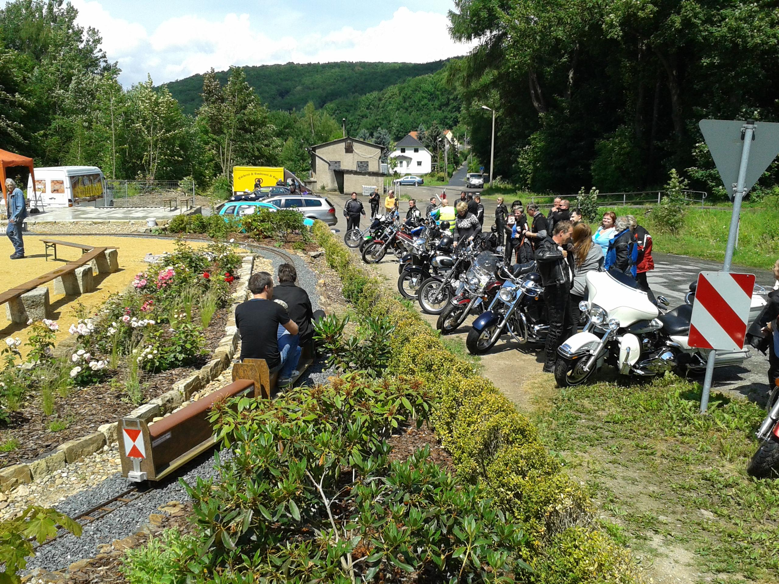 Motorradtouren ab Parkcafé