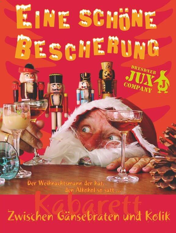Ne schöne Bescherung! – Dresdner-Jux-Company  am 06.12.18 – 19.30 Uhr